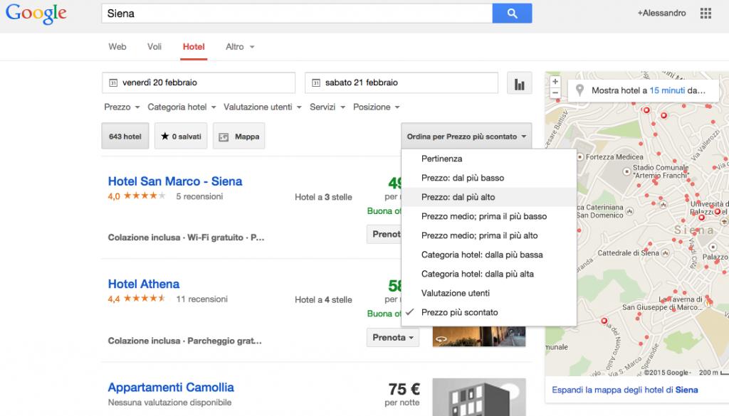 hotel finder google