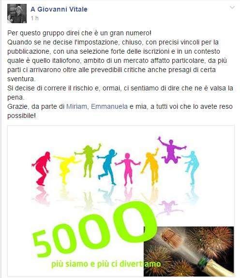 Gruppo Facebook SMM Italy 5000